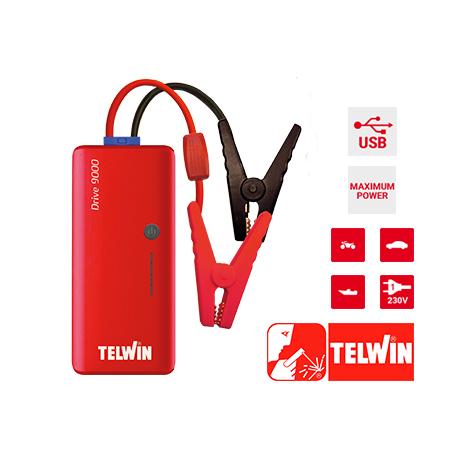 Arrancador y Powerbank Drive 9000 TELWIN