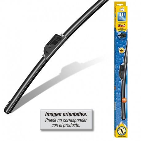 Escobilla limpiaparabrisas 55 cm flexible