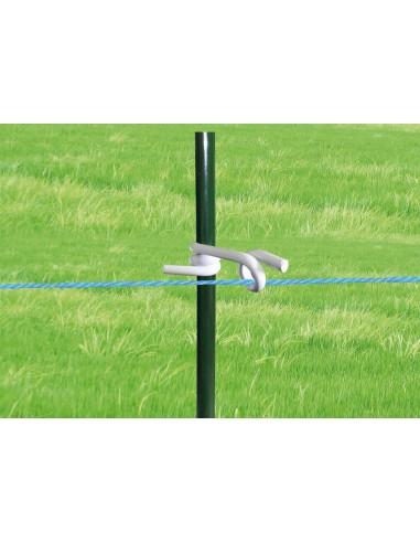 Aislador Z-8 Regulable ø 12 mm. Rabo de Cerdo