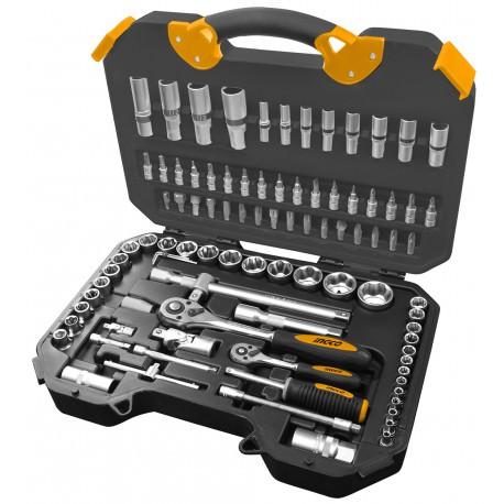 Caja herramientas 94 piezas INGCO