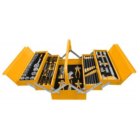 Caja herramientas 59 piezas INGCO