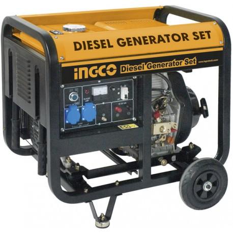 Generador diesel 5000 W INGCO