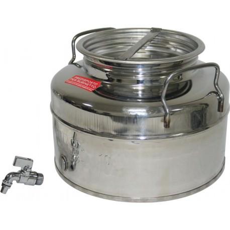 Cuba 10 litros inox